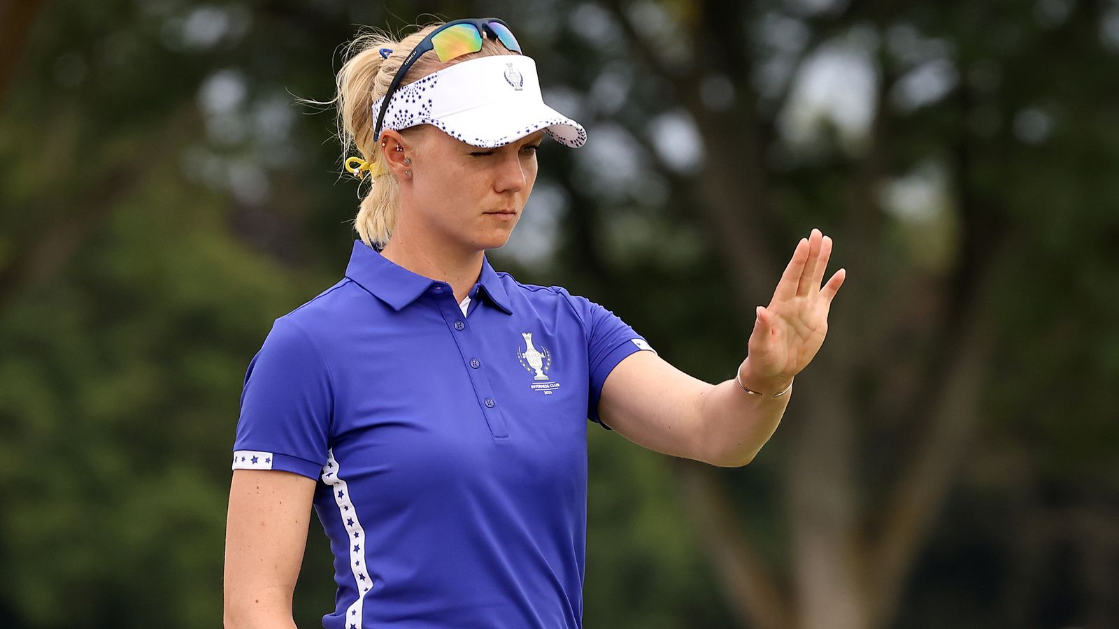 Solheim Cup: Madelene Sagstrom unhappy over controversial ...