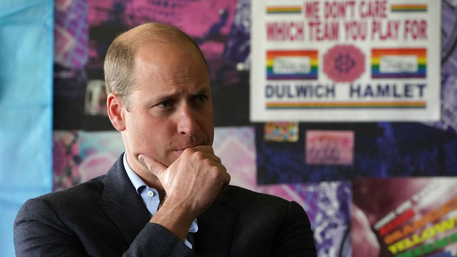Prince William backs grassroots football fans