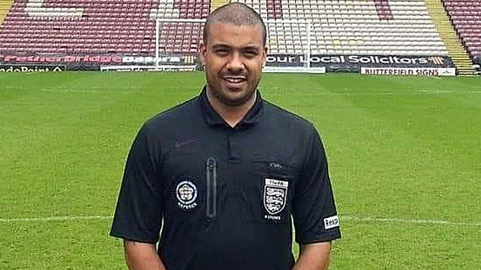 Amateur referee quits officiating in Sunday football after alleged racism and spitting incident