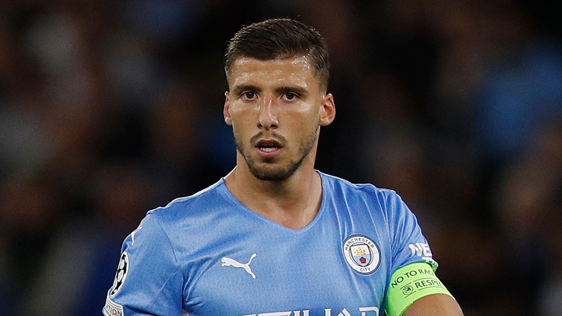 Dias to be one of Man City's five captains this season