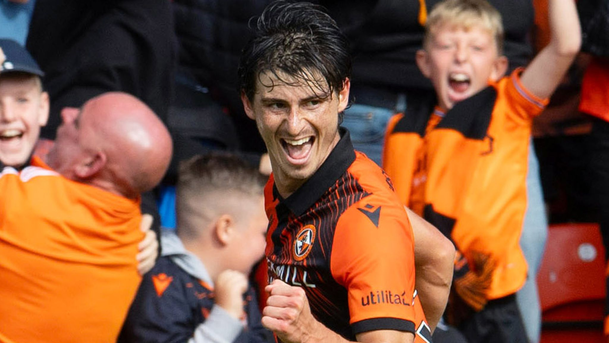 Dundee 0-1 Dundee United: Ian Harkes delivers derby delight for Dundee Utd at Tannadice
