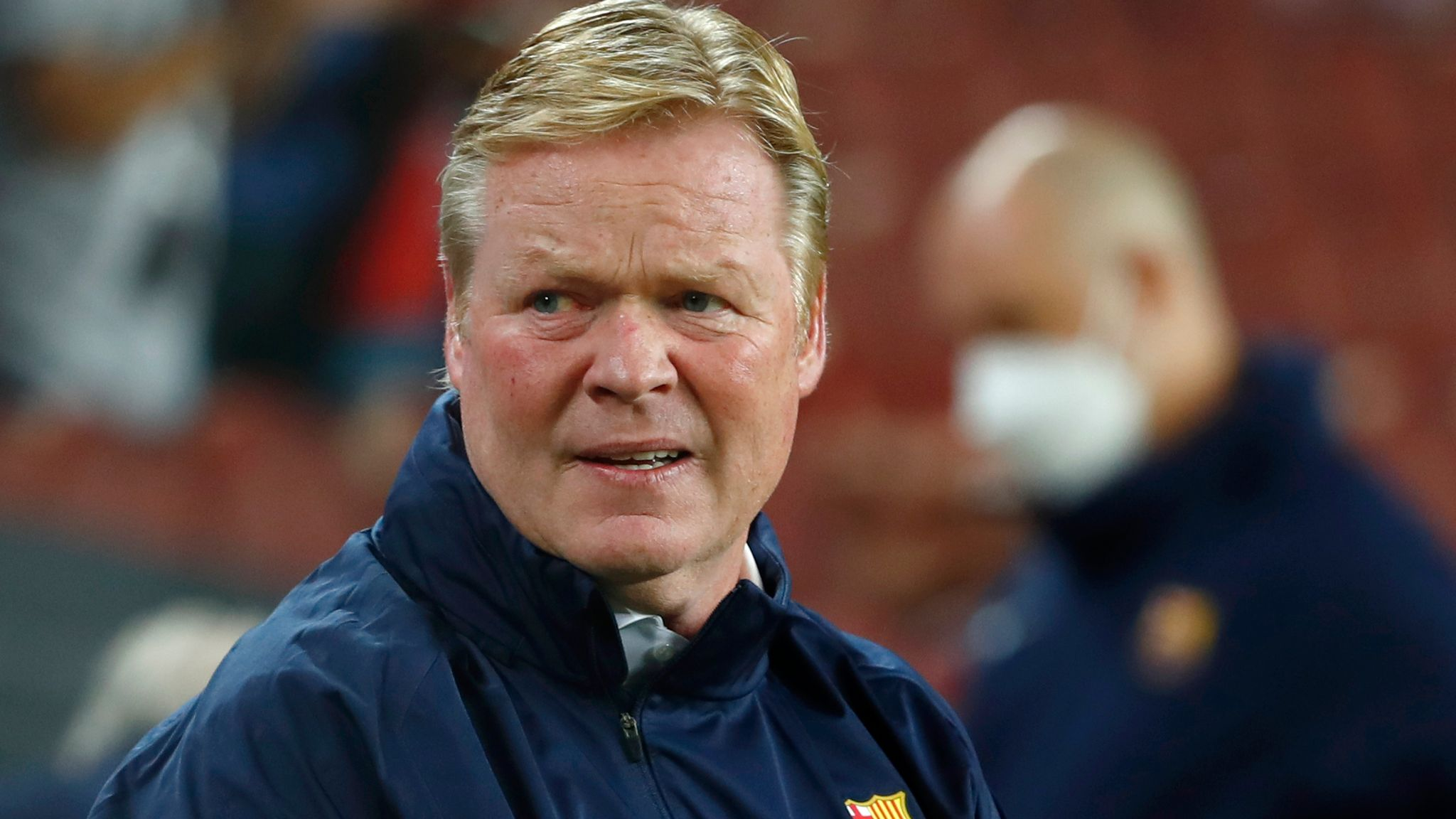 Ronald Koeman: Under-pressure Barcelona boss calls for patience in brief news conference   Football News   Sky Sports