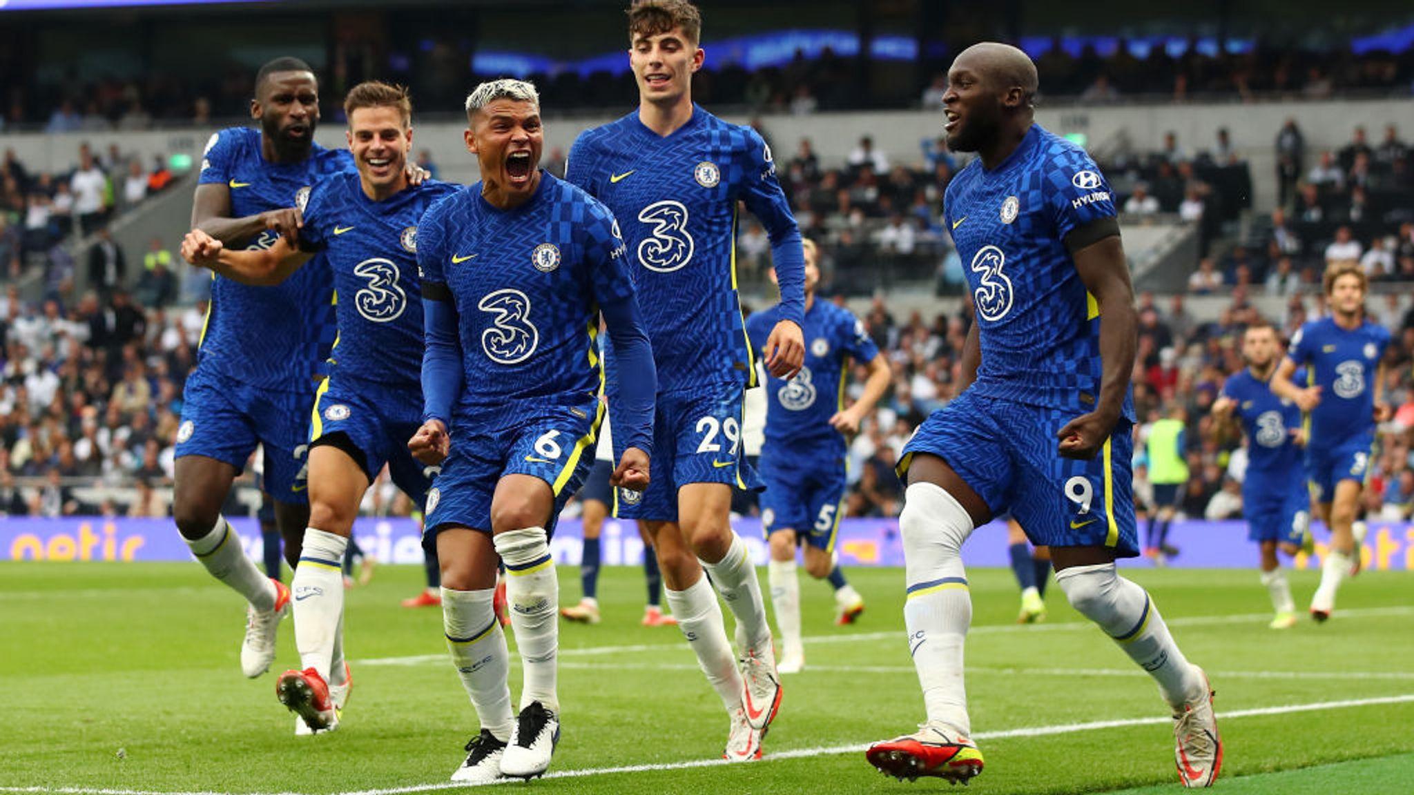 Tottenham 0-3 Chelsea: Thiago Silva, N'Golo Kante, Antonio Rudiger on target on day of tributes for Jimmy Greaves