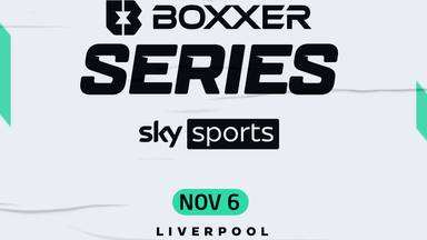 The BOXXER series starts in Liverpool on November 6, live on Sky Sports