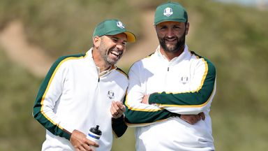 Sergio Garcia and Jon Rahm will go out for Team Europe in the opening session