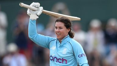 Tammy Beaumont hit her eighth ODI hundred to set England on their way to victory