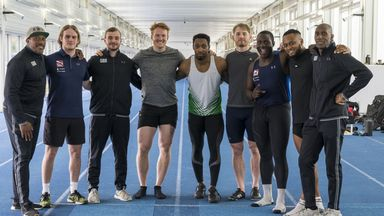 Greg Rutherford joins British Bobsleigh squad for first training camp in Aldershot