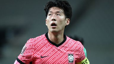 Heung-Min Son played the entire match for South Korea in their goalless draw with Iraq on Thursday