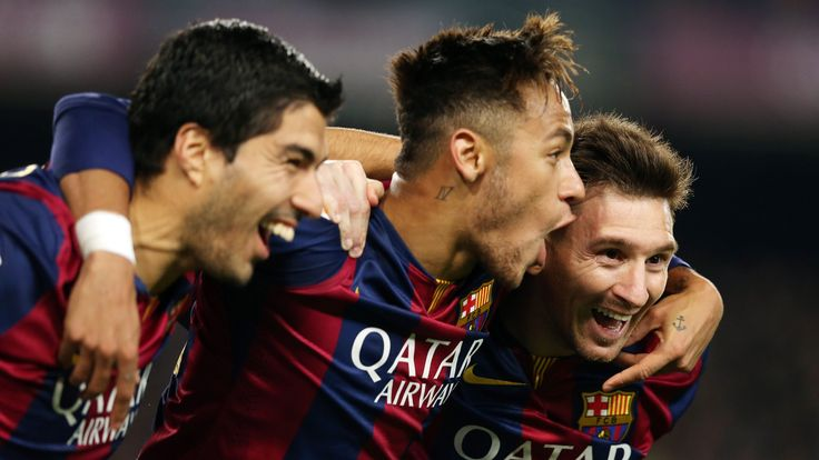Just over four years ago Barcelona could name a front three of Lionel Messi, Neymar and Luis Suarez - now the trio have all left the Nou Camp