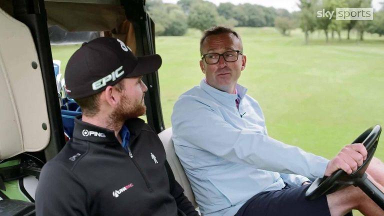 As part of a Sky Sports content series with Prostate Cancer UK, European Tour golfer Daniel Gavins and caddie Liam Harrison open up about their friendship, both on and off the golf course, and their experiences of the disease