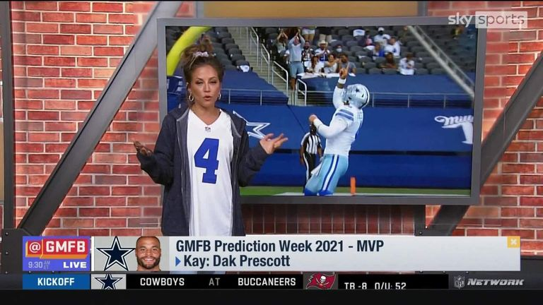 Good Morning Football's panel make their predictions on who they think will win the league's Most Valuable Player award for the 2021 season