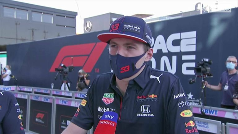 Max Verstappen believes Lewis Hamilton was to blame for their collision at the Italian GP