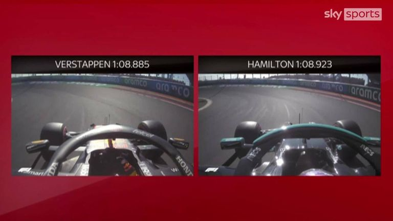 Anthony Davidson compares the qualifying laps of Max Verstappen and Lewis Hamilton from the Dutch GP.