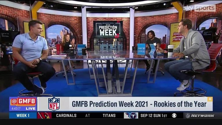 Good Morning Football picks out the rookies they expect to take the NFL by storm in the 2021 season, on the offensive and defensive side of the ball