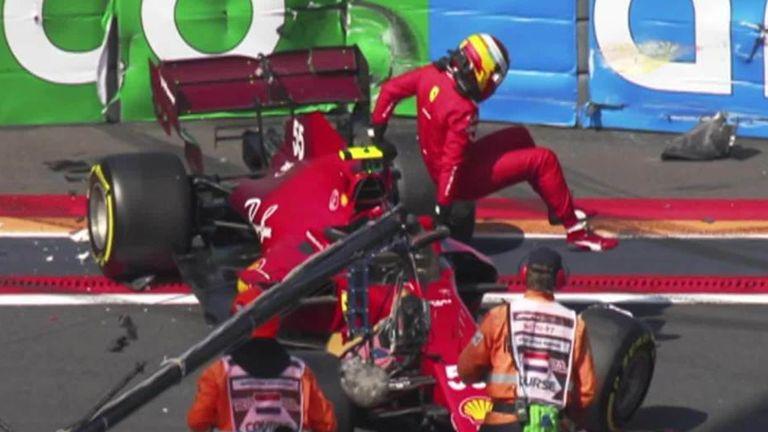 Dutch GP: Max Verstappen storms clear in    Practice three while Carlos Sainz