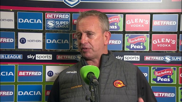 Steve McNamara feels the Catalans Dragons deserved the League Leaders' Shield and said it's great for French rugby league