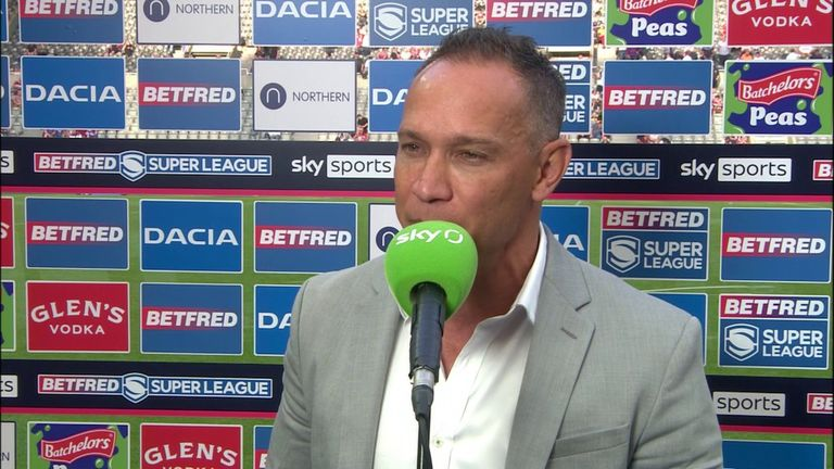 Adrian Lam felt Wigan fought right until the end and were one pass away from winning a tough game