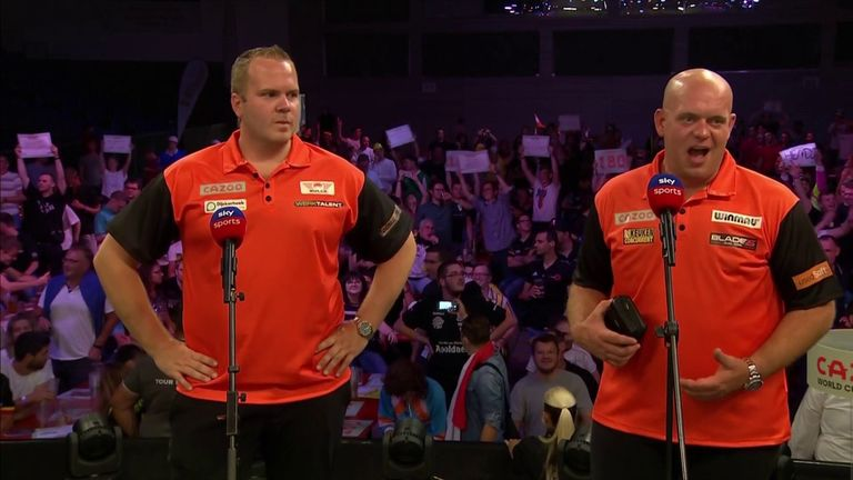 Michael van Gerwen felt it was a good performance after losing the first leg to defeat Denmark 5-1 with Dirk van Duijvenbode as the Netherlands progress in the World Cup of Darts.