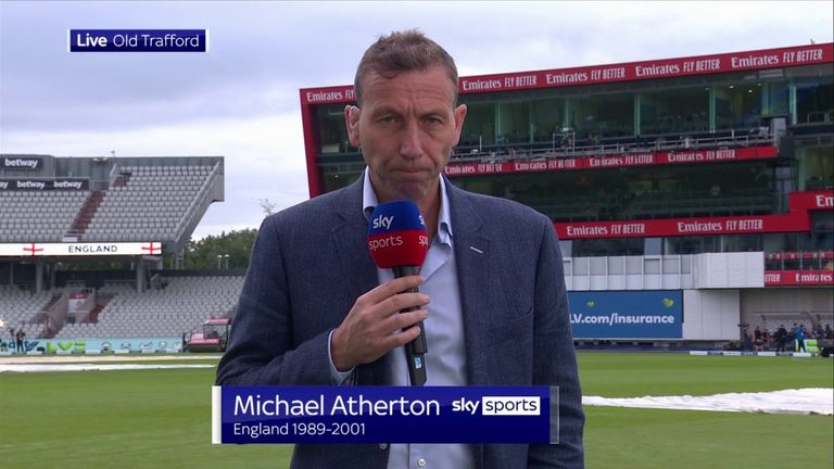 Michael Atherton says major sympathy must go to the fans after England's fifth Test against India was cancelled due to coronavirus concerns.