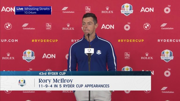 Rory McIlroy describes his relationship with Anthony Joshua and explains why he thinks he faces a tough test against Oleksandr Usyk in Saturday's world title bout