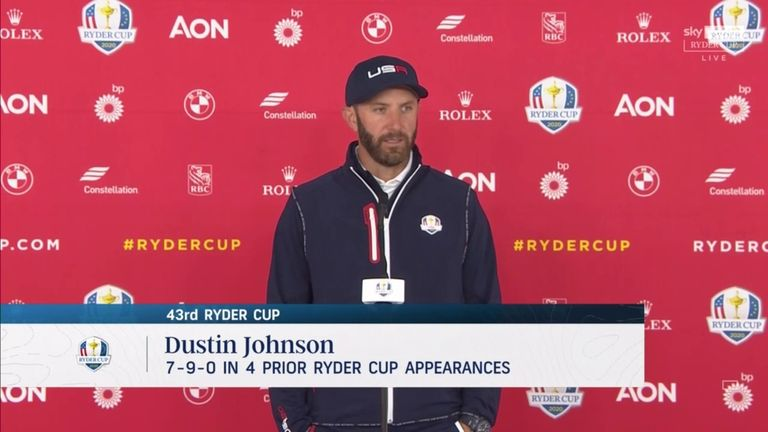 Dustin Johnson is looking forward to a different role for Team USA this week at Whistling Straits, where the former world No 1 is the oldest player in Steve Stricker's side