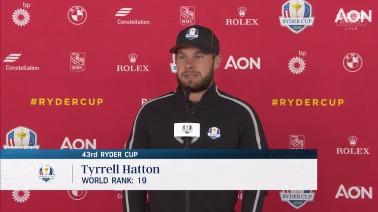 Tyrrell Hatton believes he can turn around his disappointing pre-Ryder Cup form and use the added pressure to raise his game at Whistling Straits