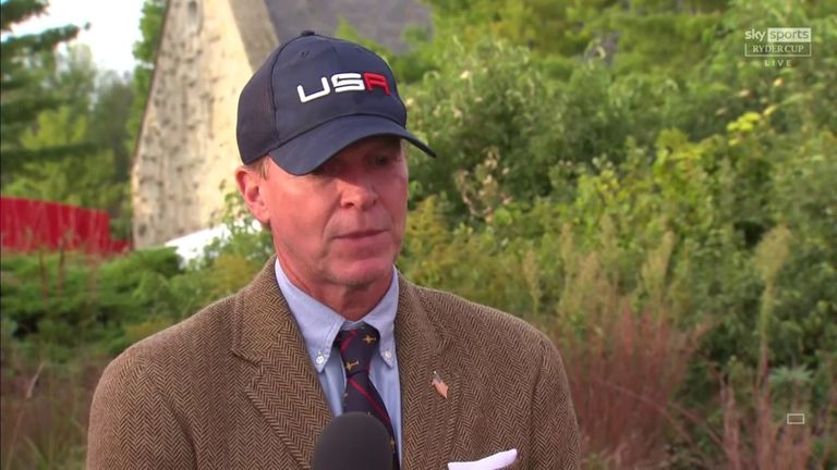 USA captain Steve Stricker revealed Tiger Woods has shared a message to give to his team ahead of the Ryder Cup at Whistling Straits