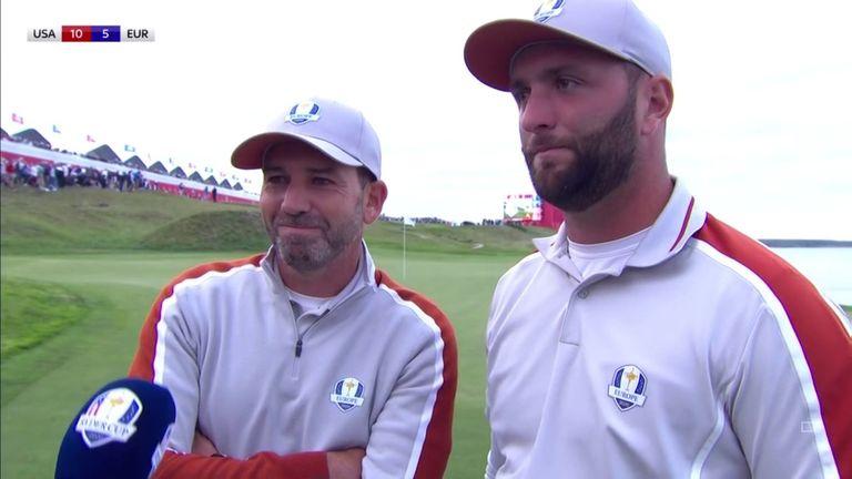 Sergio Garcia a rendu hommage à John Ram après que le duo espagnol ait battu Brooks Koepka et Jordan Spieth dans le Ryder Cup Quartet.