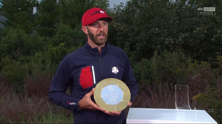 Dustin Johnson, Ryder Cup captain for the US team?  Two-time main winner 'would love' his future role |  Golf news