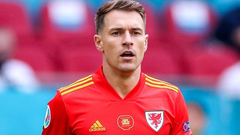 Wales midfielder Aaron Ramsey (PA)