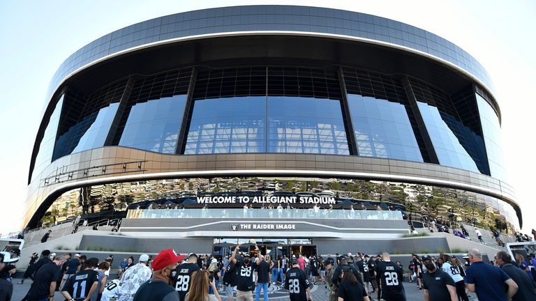 Ireland were due to play the USA at Allegiant Stadium, home of the NFL's Las Vegas Raiders