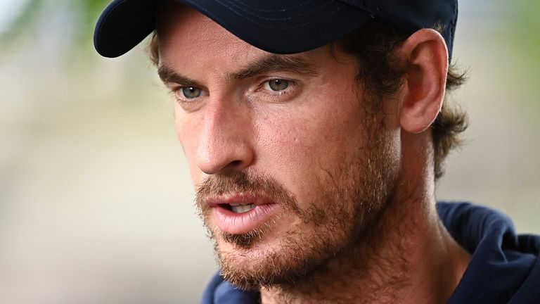 Andy Murray supports restrictions on unvaccinated players at next year's Australian Open