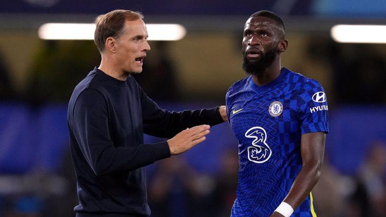 Antonio Rudiger was outstanding in Chelsea's 1-0 win over Zenit