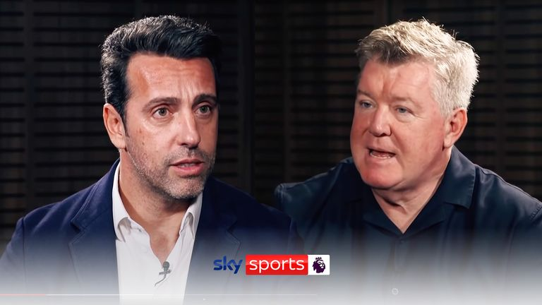 Arsenal technical director Edu spoke exclusively to Sky Sports' Geoff Shreeves