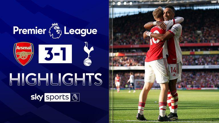Arsenal v Tottenham highlights