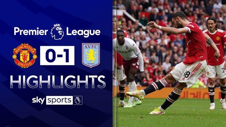 Villa beat Man Utd