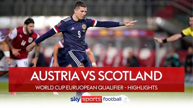 austria v scotland badge