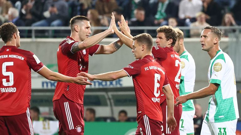 Bayern eased to victory on Friday night