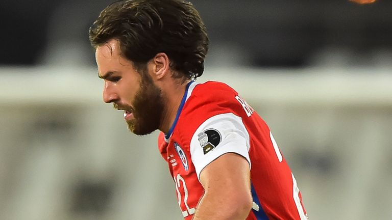 Ben Brereton Diaz played for Chile at the Copa America and has five caps and one goal to his name