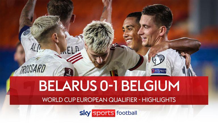 Belarus 0-1 Belgium