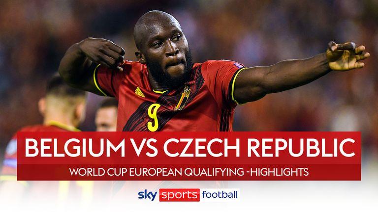 Βέλγιο 3-0 Τσεχία
