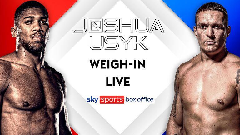 Joshua weigh in