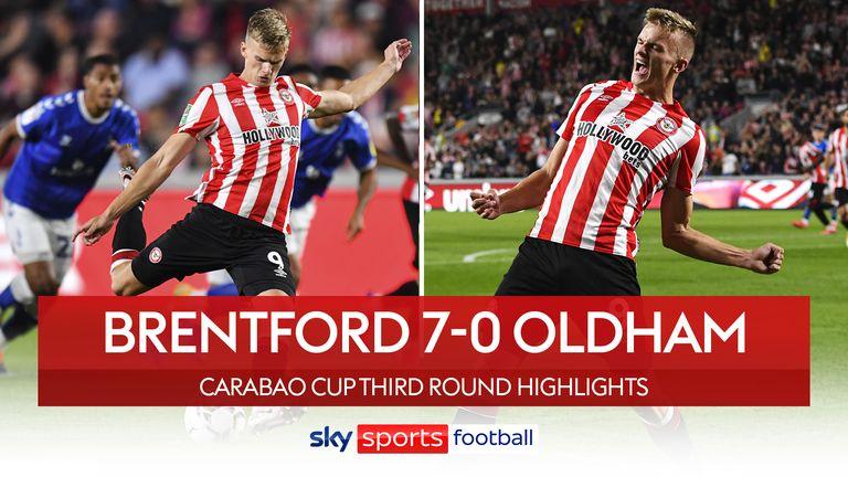Brentford 7-0 Oldham