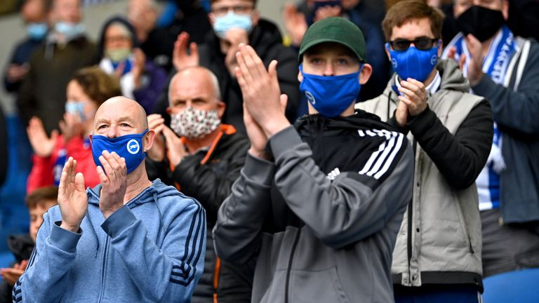The Premier League are continuing to abide by public health regulations concerning coronavirus
