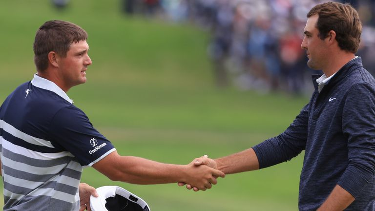 Bryson DeChambeau and Scottie Scheffler will be paired together during the opening Ryder Cup practice session