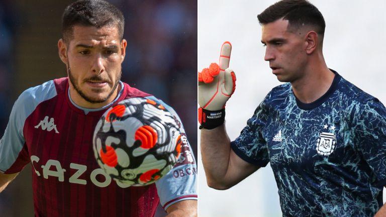 Emiliano Buendia and Emiliano Martinez