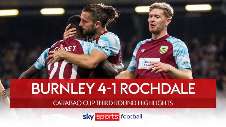 Burnley 4-1 rochdale
