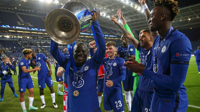 Chelsea begin their defence of the Champions League after their victory earlier in the summer