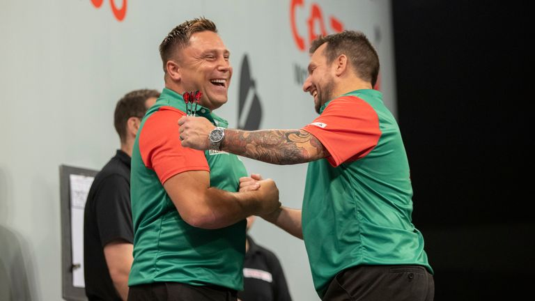 Price and Clayton led Wales to first World Cup success in November 2020