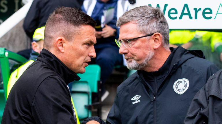 Craig Levein (left) and Paul Heckingbottom were both replaced after poor starts to the 2019/20 season